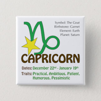 Capricorn Traits Button