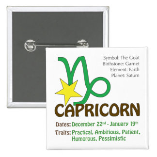 Capricorn Traits Button