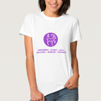 Capricorn Womens T-Shirt