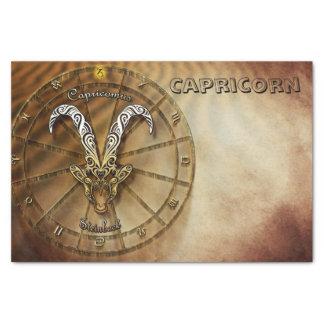 Capricorn Zodiac Astrology design Tissue Paper