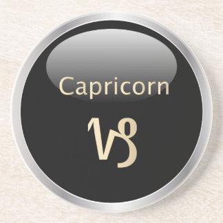 Capricorn zodiac astrology star sign coaster