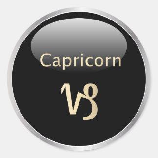 Capricorn zodiac astrology,  star sign stickers