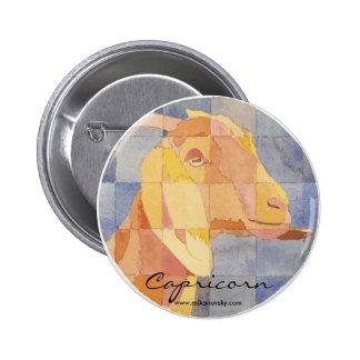 Capricorn Zodiac Pin
