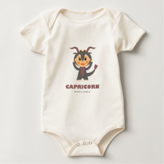Capricorn Zodiac for kids Baby Bodysuit
