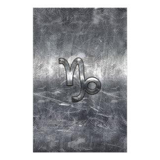 Capricorn Zodiac Sign in grunge distressed  style 14 Cm X 21.5 Cm Flyer