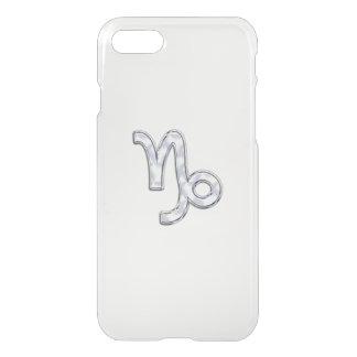 Capricorn Zodiac Sign on Fuchsia Camo iPhone 7 Case