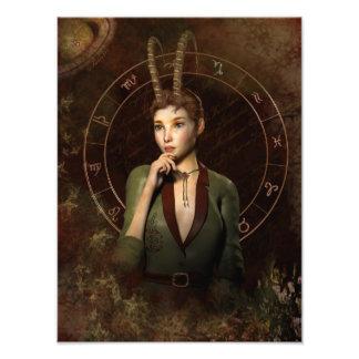 Capricorn zodiac sign photo