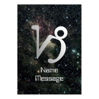 Capricorn Zodiac Star Sign Universe Business Cards