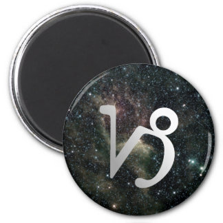 Capricorn Zodiac Star Sign Universe Magnet