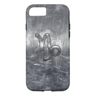 Capricorn Zodiac Symbol Grunge Distressed Style iPhone 7 Case