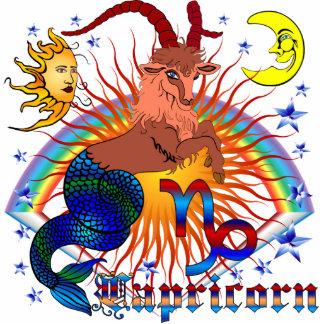 Capricorn-Zodiac-V-1 Standing Photo Sculpture