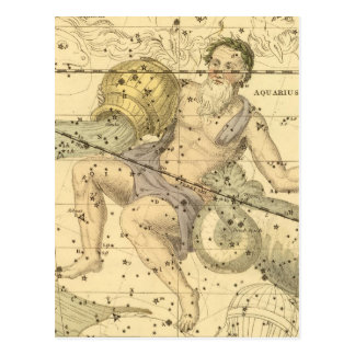 Capricornus and Aquarius Postcard