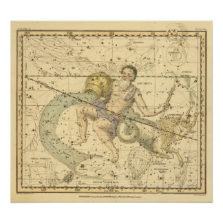 Capricornus and Aquarius Poster