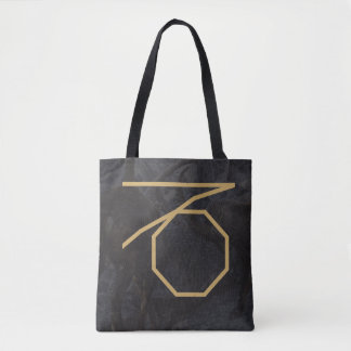 Capricornus Zodiac Sign | Custom Background Tote Bag