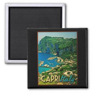 Capris Italy Vintage Travel Magnet