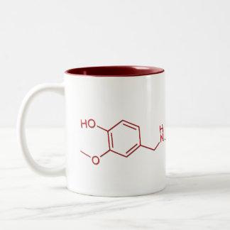 Capsaicin Men's Shirts Two-Tone Coffee Mug