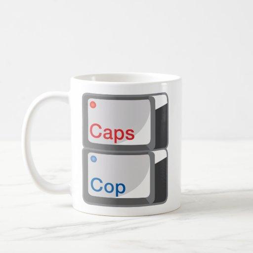 @CapsCop Mugshot Mug