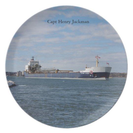 Capt Henry Jackman plate