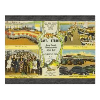 Capt. Starn'S Restaurant And Bar Atlantic City, Vi Postcard
