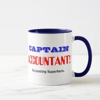 Captain Accountant Accounting Superhero Mug