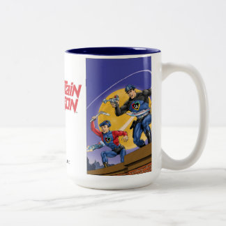 Captain Action Classic Two-Tone Mug