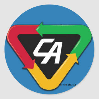 Captain Action Logo Sticker