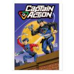 Captain Action- Murphy Anderson Postcard