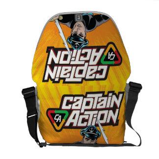 Captain Action Rickshaw Messenger Bag