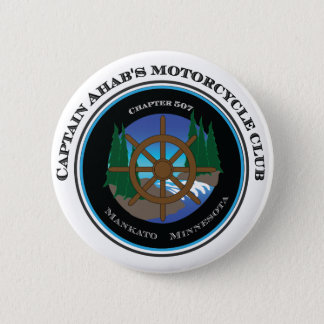 Captain Ahab's Motorcycle Club 6 Cm Round Badge