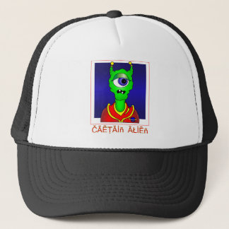 Captain ALIEN Trucker Hat
