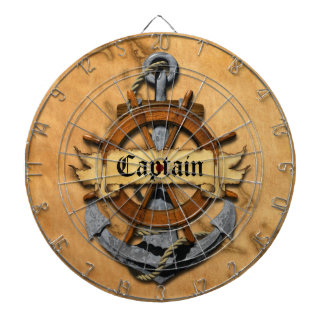Captain Anchor And Wheel Dartboard