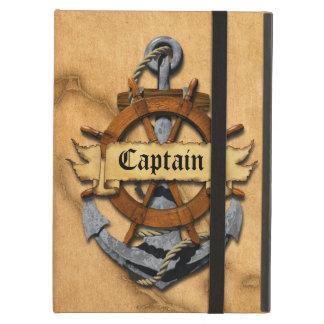 Captain Anchor And Wheel iPad Air Cover