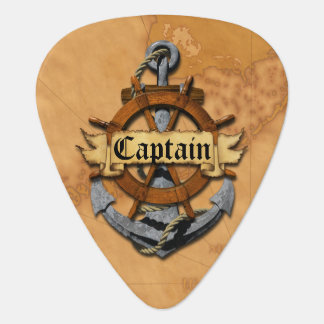 Captain Anchor And Wheel Pick