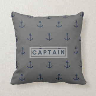 Captain Ancle all over printed Throw pillow