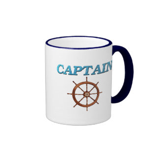 Captain and Captain s Wheel Mugs