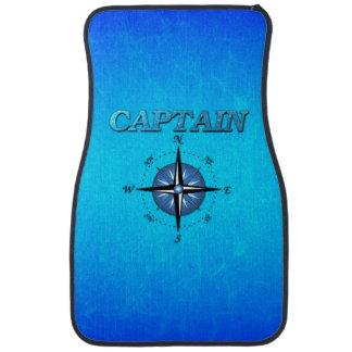 Captain And Compass Rose Car Mat