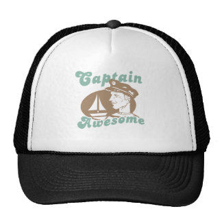 Captain Awesome Trucker Hat