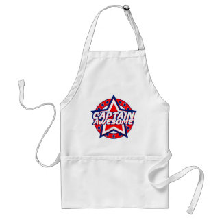 Captain Awesome Adult Apron