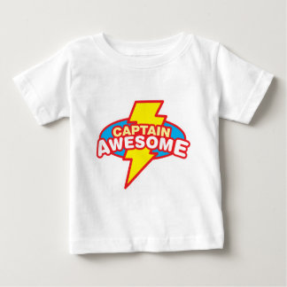 Captain Awesome Baby T-Shirt