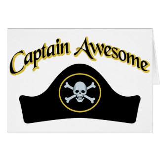 Captain Awesome Greeting Cards