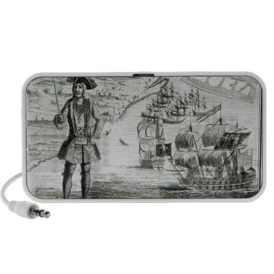 Captain Bartholomew Roberts  with two ships Travelling Speaker