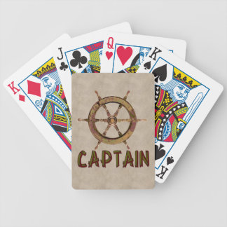 Captain Bicycle Playing Cards