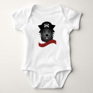Captain Black Dog - Baby Jersey Bodysuit Baby Bodysuit