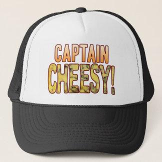 Captain Blue Cheesy Trucker Hat