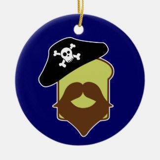 Captain Breadbeard Christmas Ornament