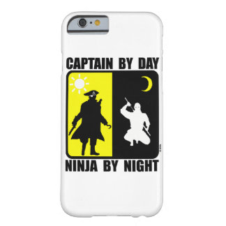 Captain by day, ninja by night barely there iPhone 6 case