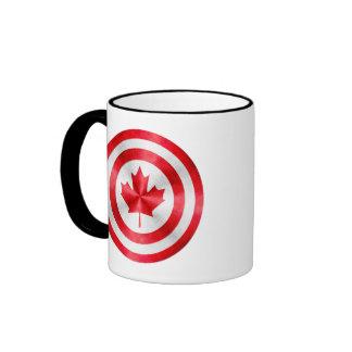Captain Canada Hero Shield Coffee Mug