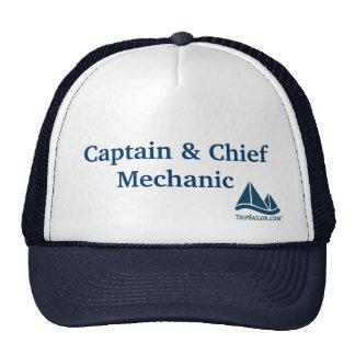 Captain & Chief Mechanic Sailing Hat