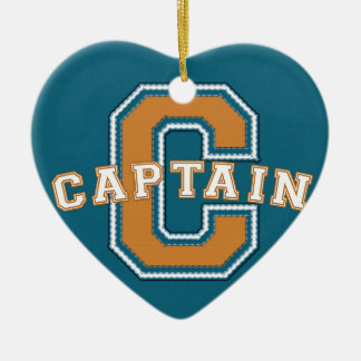 Captain Christmas Ornament
