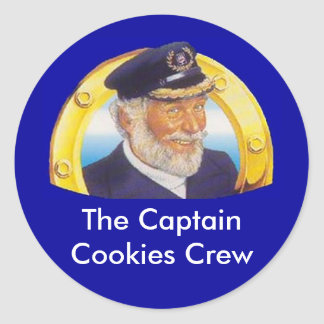 Captain Cookies Stickers